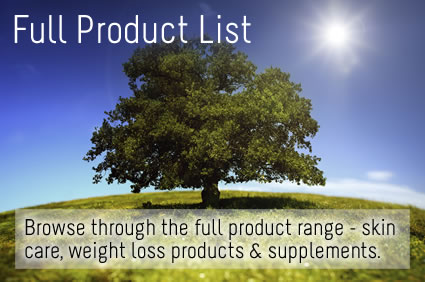 Full Herbalife Product List